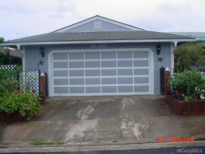 Waipahu Single Family Home For Sale: 94-406 Opeha Street