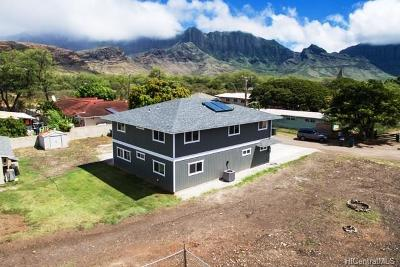 Waianae Single Family Home For Sale: 86-309 Puuhulu Place