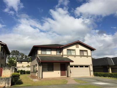 Mililani Single Family Home For Sale: 95-1032 Haulelau Street #6