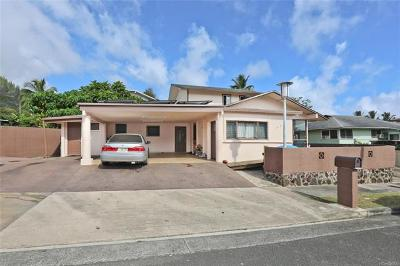 Hauula Single Family Home In Escrow Showing: 54-237 Honomu Street