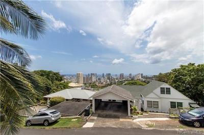 Honolulu HI Single Family Home For Sale: $1,198,000