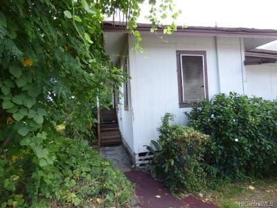 Honolulu Single Family Home For Sale: 1917 Uhu Street #A