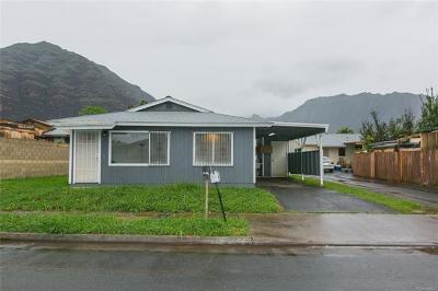 Waianae Single Family Home In Escrow Showing: 84-558 Nukea Street