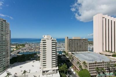Honolulu Condo/Townhouse For Sale: 1778 Ala Moana Boulevard #2101