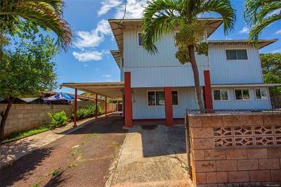Ewa Beach Single Family Home For Sale: 91-950 Kalapu Street