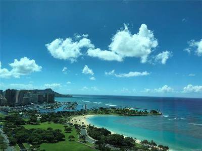 Honolulu Condo/Townhouse For Sale: 1288 Ala Moana Boulevard #30E