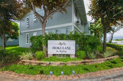 Kailua Condo/Townhouse For Sale: 355 Aoloa Street #K102