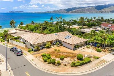 Honolulu County Single Family Home For Sale: 28 Poipu Drive