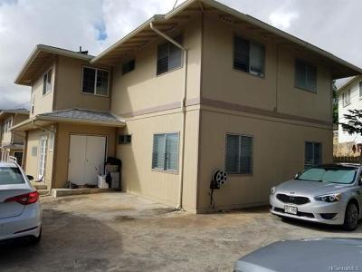 Multi Family Home For Sale: 1335 Kanewai Street #02