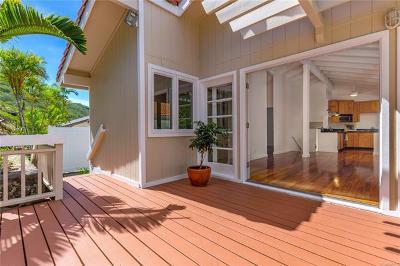 Honolulu County Single Family Home For Sale: 1441 Honokahua Street
