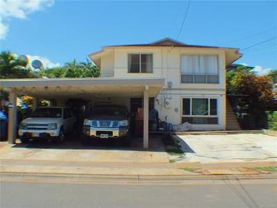 Waipahu Single Family Home For Sale: 94-027 Poailani Circle