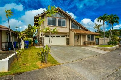 Mililani Single Family Home In Escrow Showing: 95-219 Naaualii Place