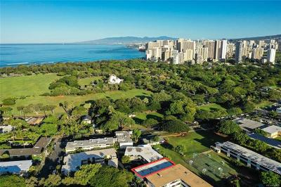 Honolulu HI Condo/Townhouse For Sale: $440,000