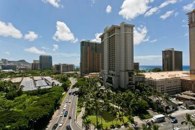 Honolulu Condo/Townhouse For Sale: 1860 Ala Moana Boulevard #1402