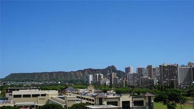 Honolulu Condo/Townhouse For Sale: 555 University Avenue #902