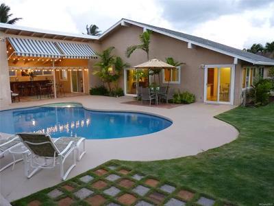 Kailua Single Family Home For Sale: 602 Launa Aloha Place