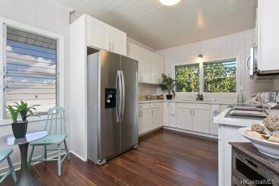 Honolulu Single Family Home For Sale: 2103 Makanani Drive