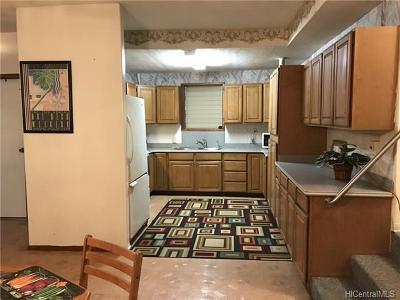 Honolulu Single Family Home For Sale: 3128 Numana Road
