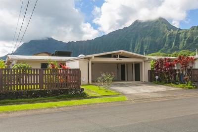 Kaneohe Single Family Home For Sale: 45-519 Loihi Street