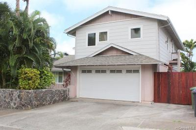 Kailua Single Family Home For Sale: 1391 Kina Street