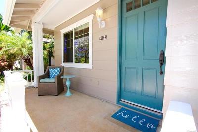 Ewa Beach Single Family Home For Sale: 91-1030 Kai Uhu Street