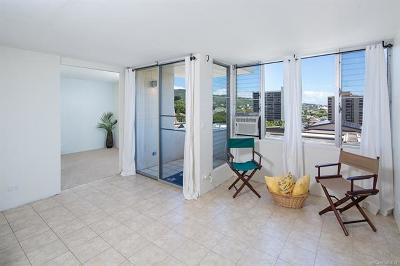 Condo/Townhouse In Escrow Not Showing: 1624 Dole Street #901