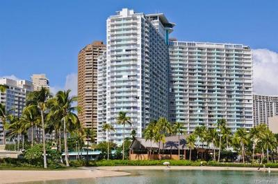 Hawaii County, Honolulu County Condo/Townhouse For Sale: 1777 Ala Moana Boulevard #1425