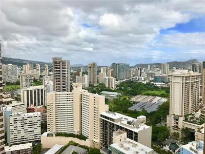 Honolulu Condo/Townhouse For Sale: 1778 Ala Moana Boulevard #4007