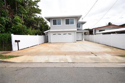 Honolulu, Kailua, Waimanalo, Honolulu, Kaneohe Single Family Home For Sale: 2324 Palena Street