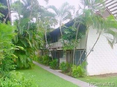 Honolulu HI Condo/Townhouse For Sale: $589,000