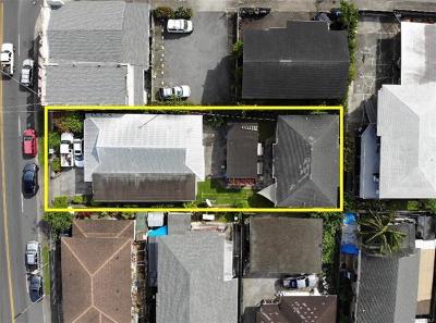 Honolulu HI Multi Family Home For Sale: $1,080,000