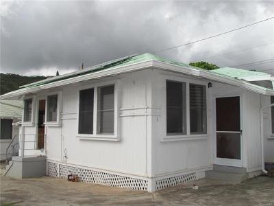 Honolulu HI Single Family Home For Sale: $538,000