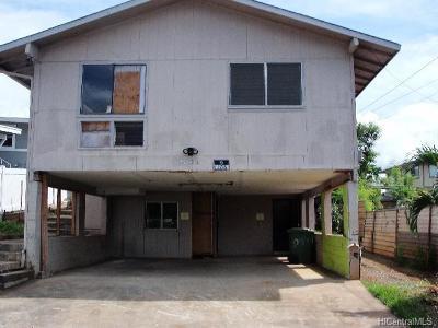 Waipahu Single Family Home For Sale: 94-051 Awamoku Street