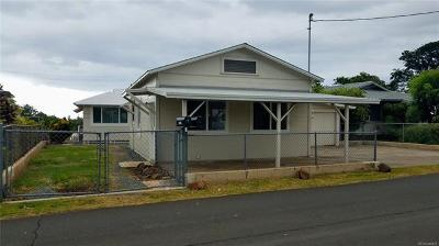 Haleiwa Single Family Home For Sale: 66-468 Paalaa Road