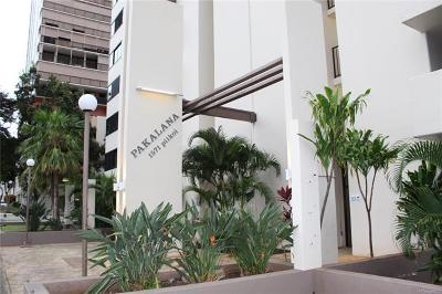 Honolulu Condo/Townhouse For Sale: 1571 Piikoi Street #806