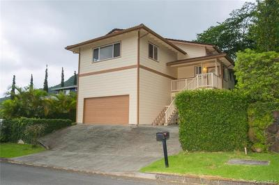 Kailua Single Family Home For Sale: 1302 Maleko Street