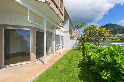 Condo/Townhouse For Sale: 7007 Hawaii Kai Drive #J13