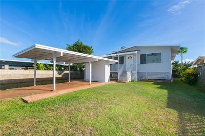 Ewa Beach Single Family Home For Sale: 91-825 Lipaki Place