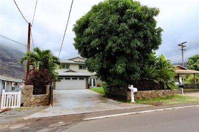 Waianae Single Family Home For Sale: 84-668 Lahaina Street