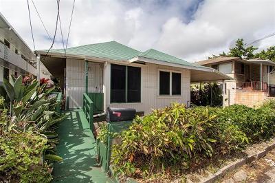 Honolulu Single Family Home For Sale: 1220 Palolo Avenue