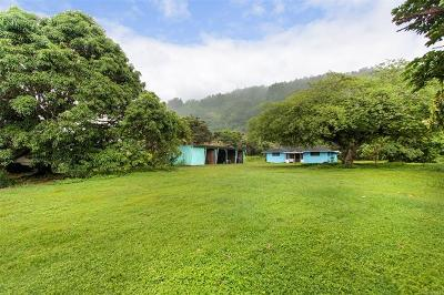 Haleiwa Single Family Home In Escrow Showing: 59-278 Kamehameha Highway