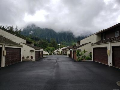 Kaneohe Condo/Townhouse In Escrow Showing: 47-161a Hui Alaiaha Place #A141