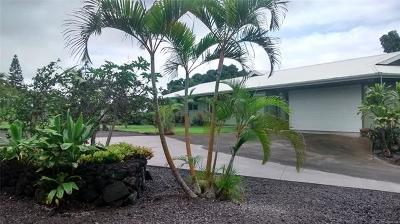 Kailua Single Family Home In Escrow Showing: 73-4369 Ahiahi Street