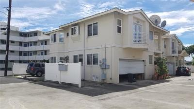 Honolulu Single Family Home For Sale: 2633 Maunawai Place #A