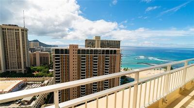 Hawaii County, Honolulu County Condo/Townhouse In Escrow Showing: 1777 Ala Moana Boulevard #2609