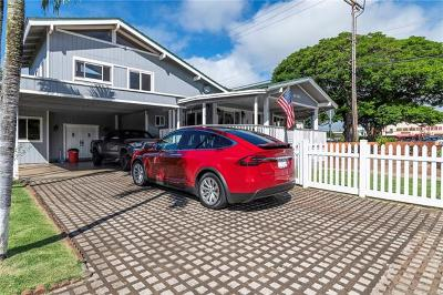 Haleiwa Single Family Home In Escrow Showing: 66-498 Kilioe Place