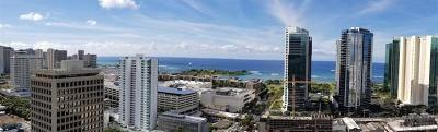 Honolulu County Condo/Townhouse For Sale: 1296 Kapiolani Boulevard #E 3306