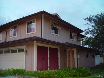 Mililani Condo/Townhouse For Sale: 95-923 Ukuwai Street #101