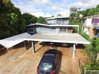 Multi Family Home For Sale: 1447 Hoohui Street