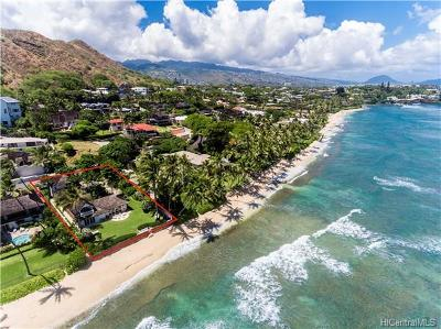 Honolulu Single Family Home For Sale: 3639 Diamond Head Road